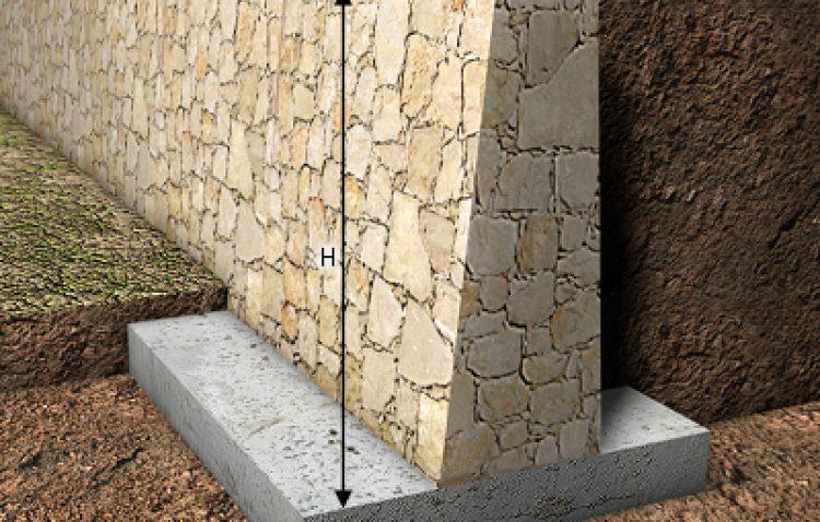 Muro de contenci n para tu vivienda alur arquitectos - Tipos de mamposteria de piedra ...